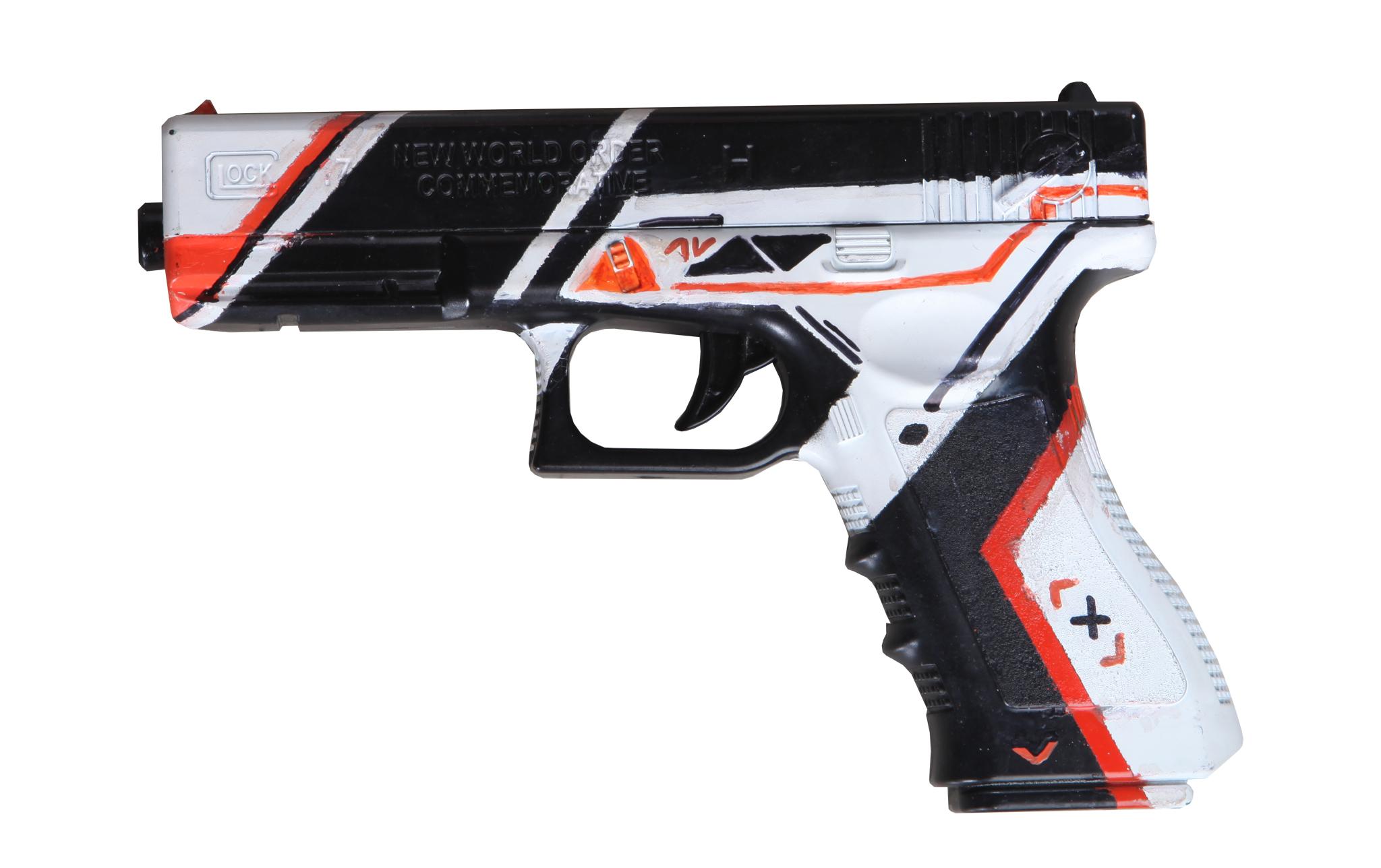 Set súng đồ chơi Skin ASIIMOV CSGO số 5