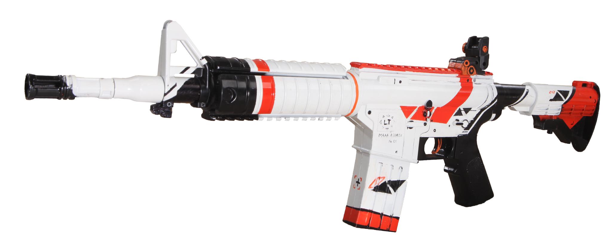 Set súng đồ chơi Skin ASIIMOV CSGO số 3