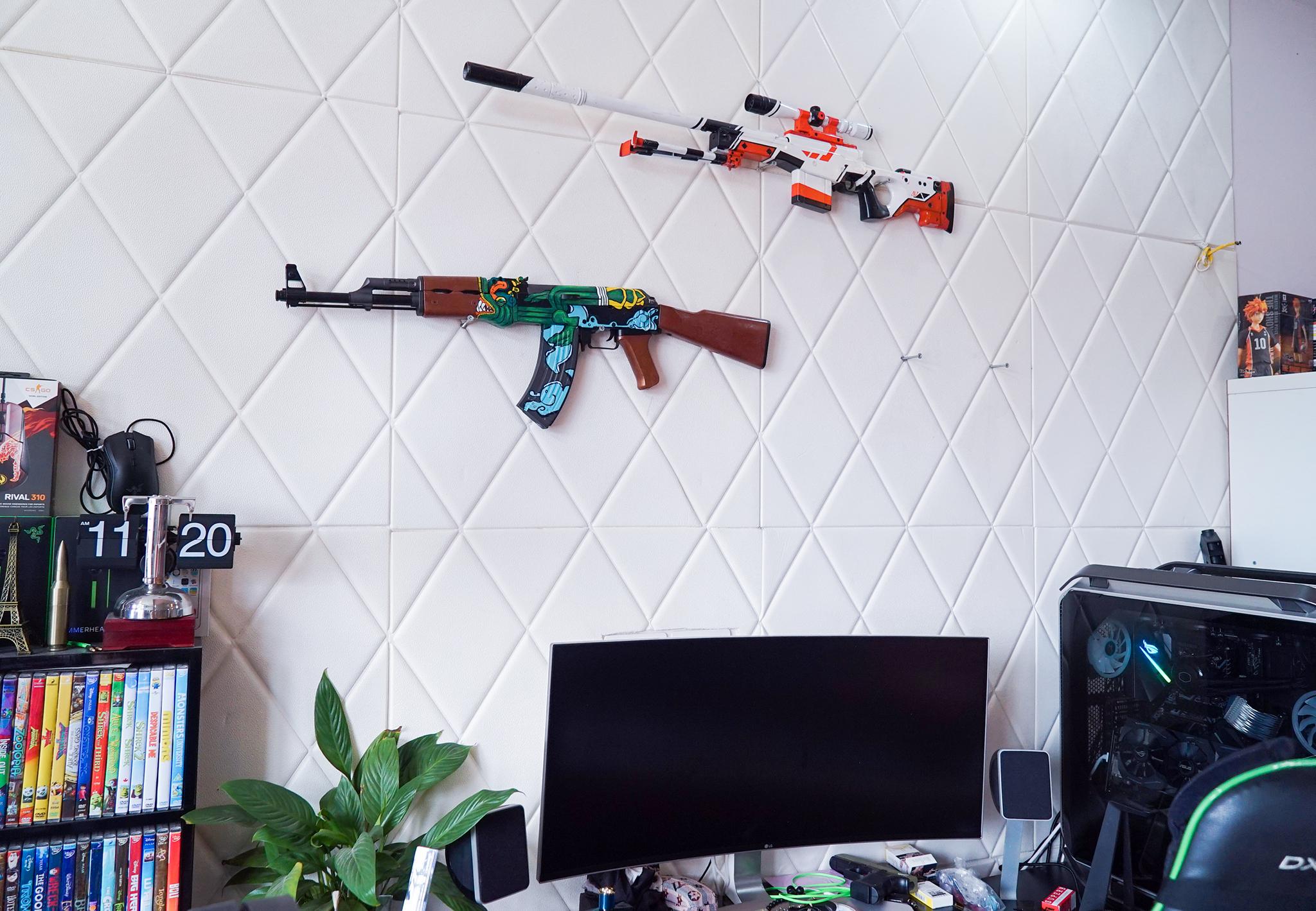 Súng đồ chơi AK47 Fire Serpent CSGO số 3
