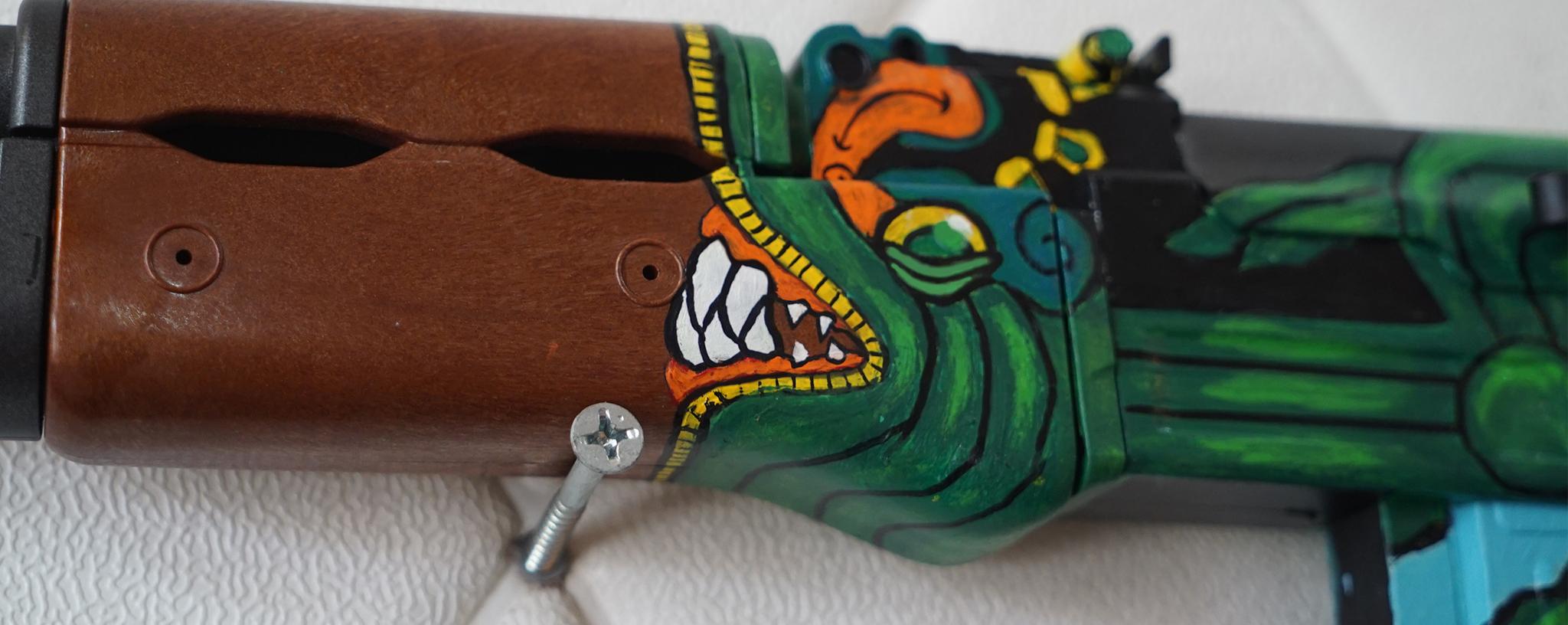 Súng đồ chơi AK47 Fire Serpent CSGO số 1