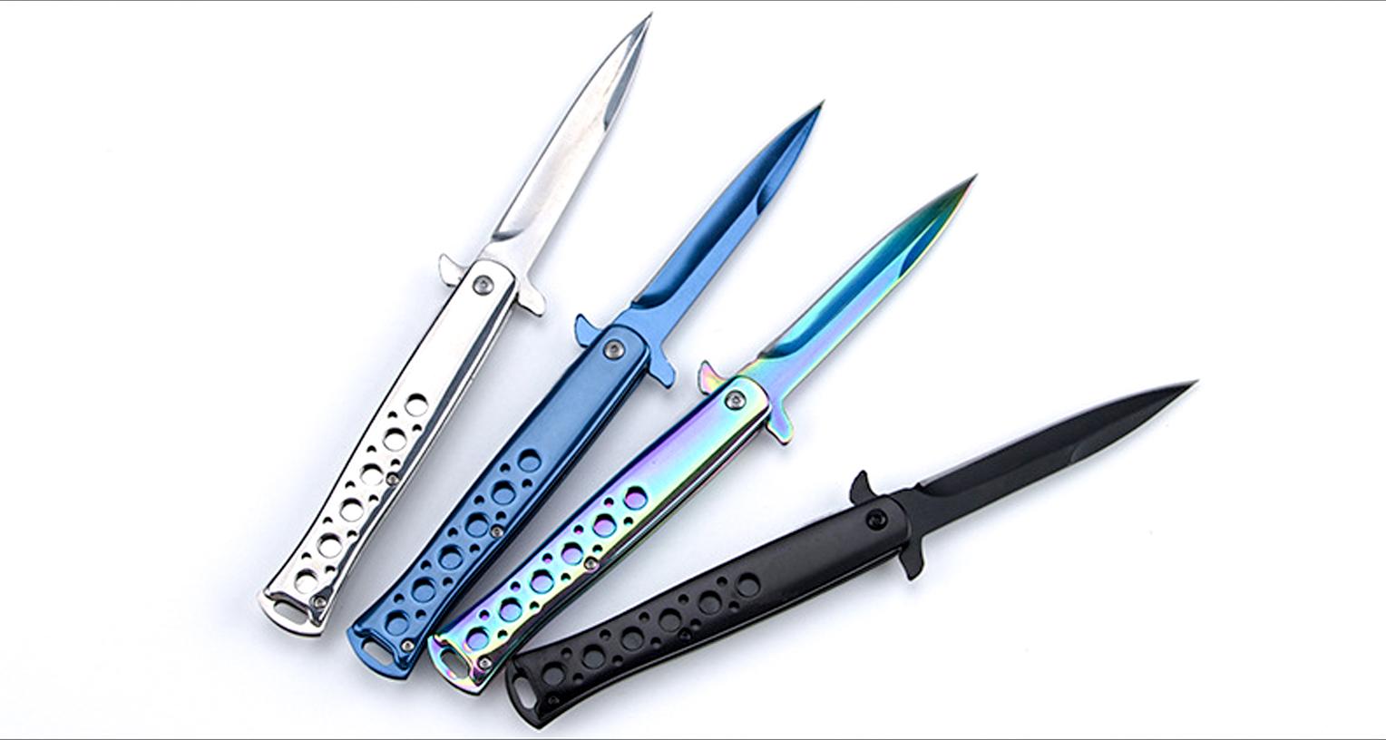 STILETTO KNIFE CSGO Dao Gập Đẹp Đi Rừng số 2