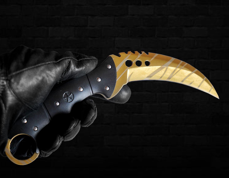 Dao Talon Knife CSGO thép không gỉ (1:1) số 3