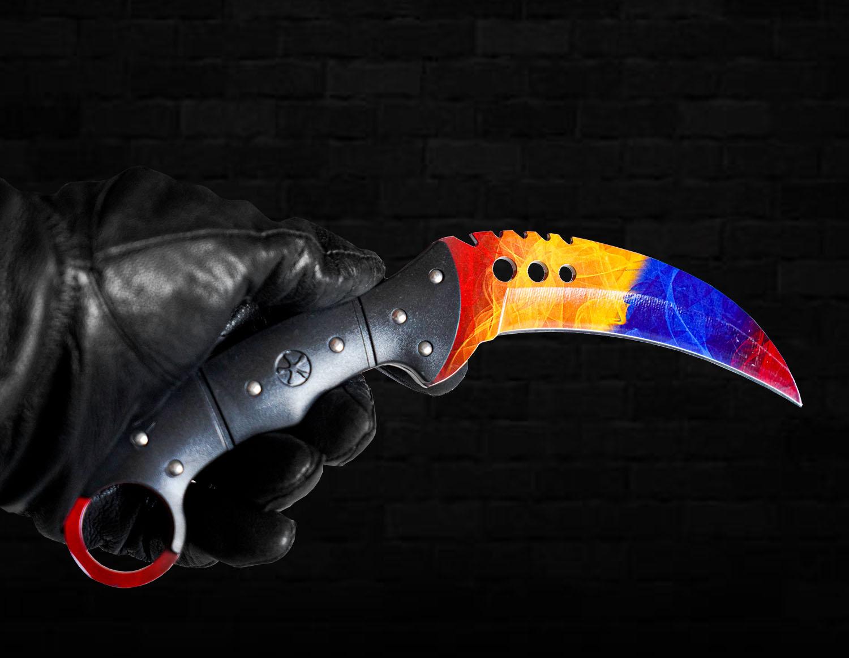 Dao Talon Knife CSGO thép không gỉ (1:1) số 1